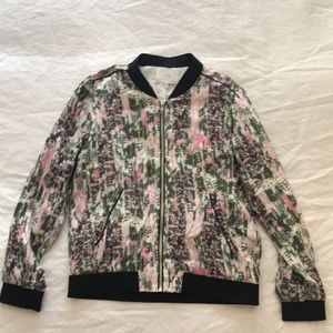 IRO Silk Jacket Bomber Sz 0